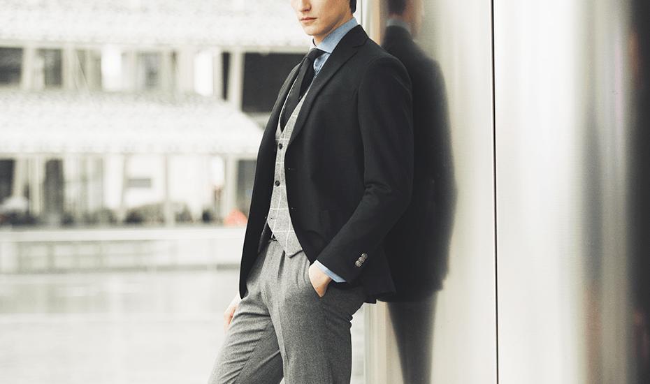 Abito Da Matrimonio Uomo Grigio : Broken suit how to mix separates and color combinations