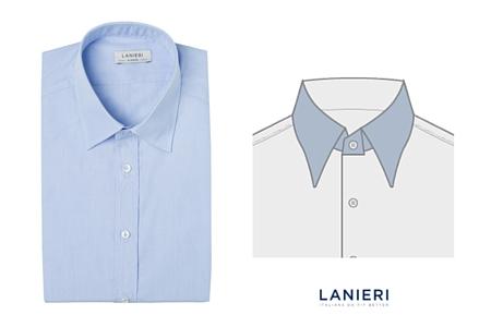 Custom Dress Shirt Guide Collar Styles