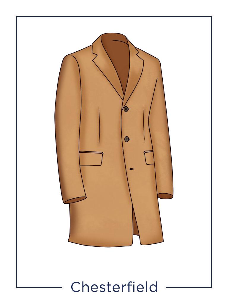 men's coat Chesterfield