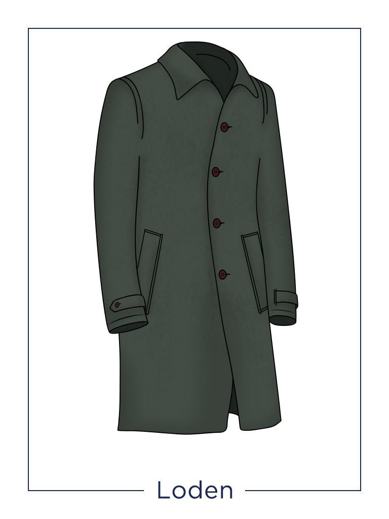 Cappotto da uomo Loden