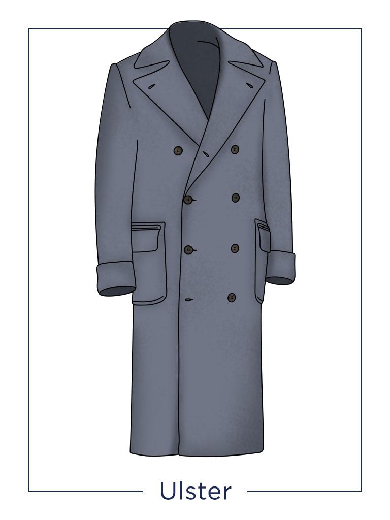 Cappotto uomo Ulster
