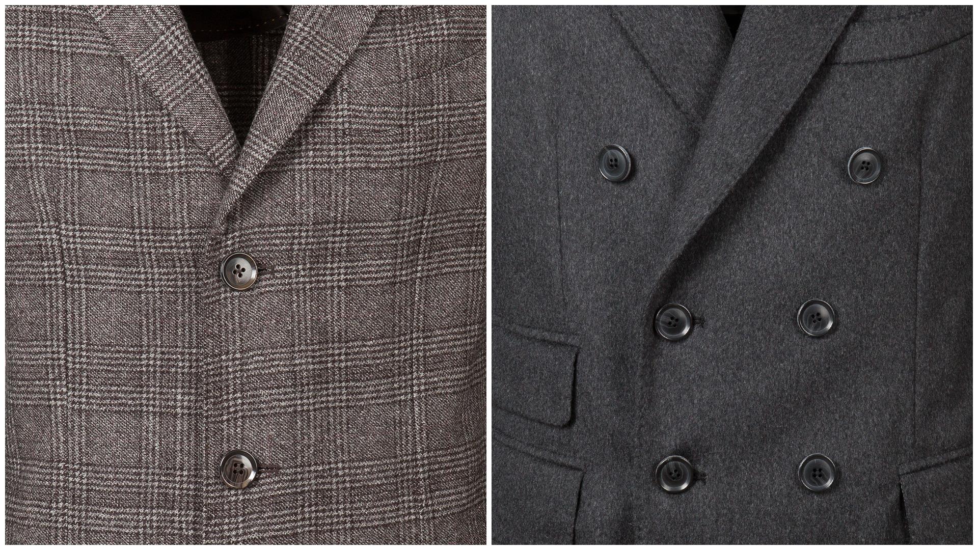 Cappotto da uomo elegante stile