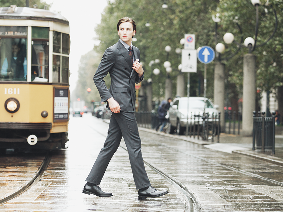 Flannel Suit Lanieri